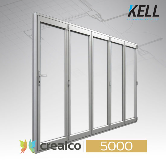 5000 Top Hung Sliding Folding Door