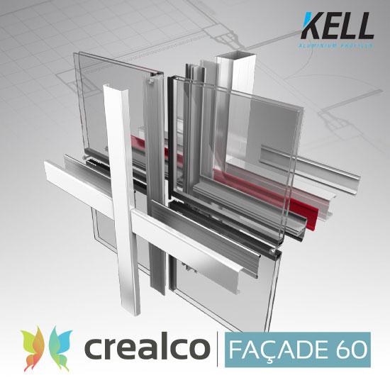 Façade60 Pressure Plate Curtain Wall