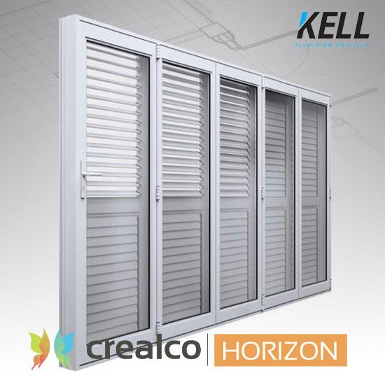 Horizon Adjustable Shutter for Windows and Doors