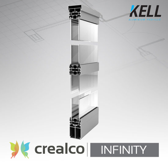 Infinity Internal Glass and Board Partition