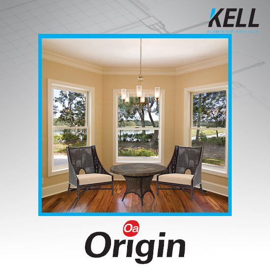 Origin Vertical Slider Window