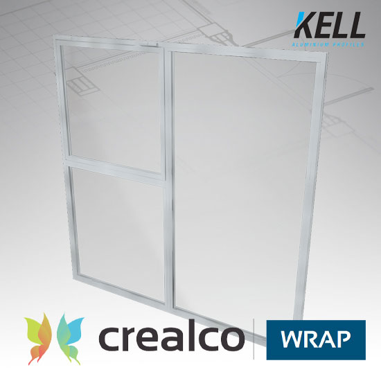 Wrap Straight Cut Window